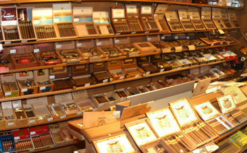 The Humidor in Stogies World Class Cigars
