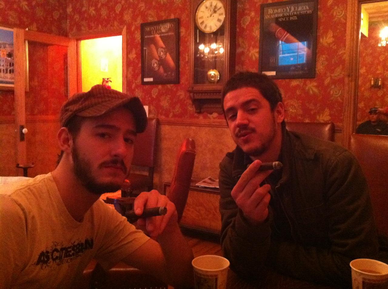 Edwards Tobacco smoking lounge