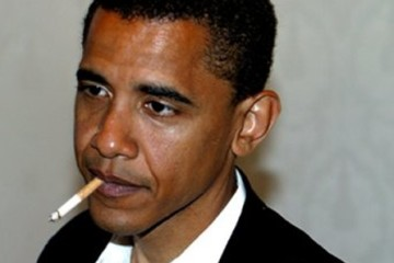Obama on cigars