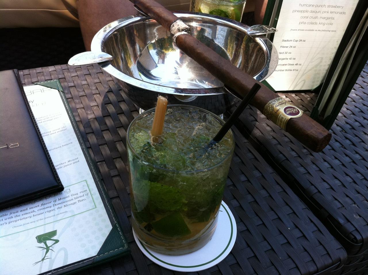 Rhumbar in Vegas is a great cigar bar