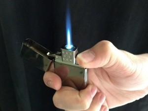 Vector Thunderbird Zippo flame