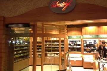 Davidoff cigar shop Las Vegas