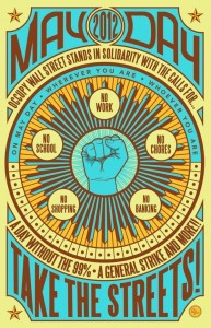Occupy Wall Street May Day Poster