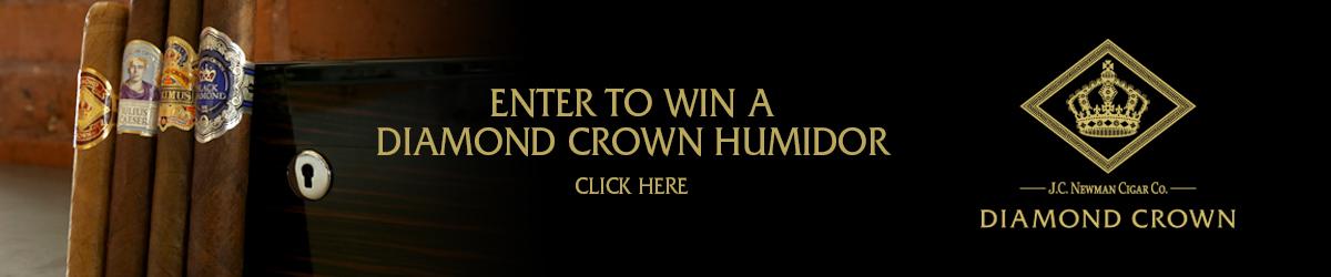 Diamond Crown Humidor Giveaway