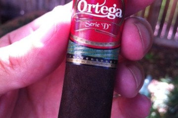 Ortega Serie D Maduro cigar rating