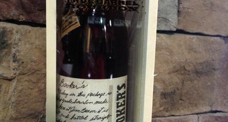 Booker's bourbon whiskey