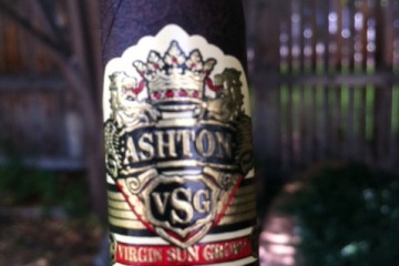 Ashton VSG cigar review and rating