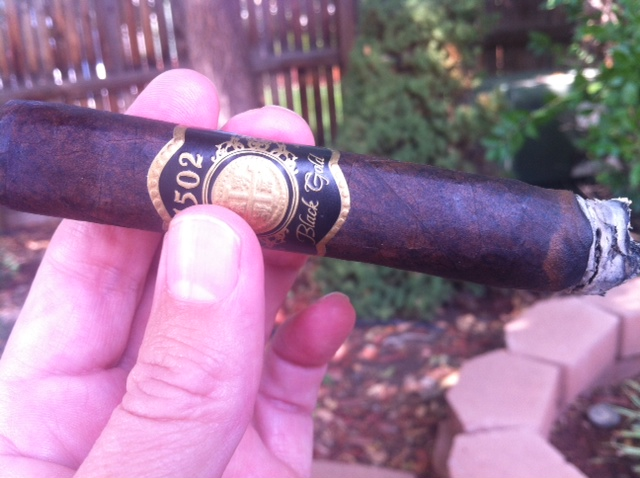 1502 Black Gold cigar review and rating