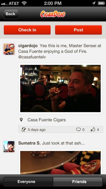 Cigar App post