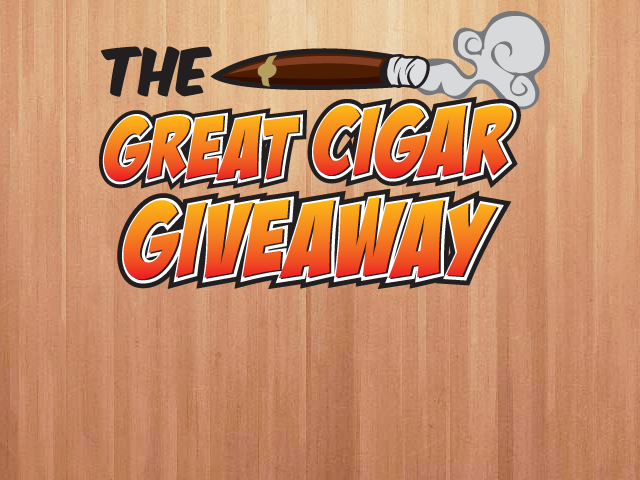 The Great Cigar Giveaway
