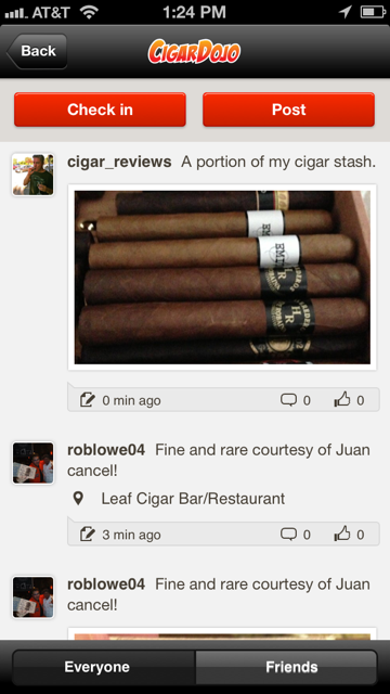 Cigar giveaway entry