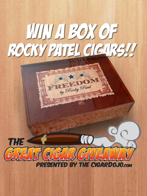 Rocky Patel Cigars Giveaway