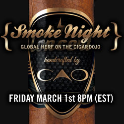 CAO Smoke Night on the Cigar Dojo app.