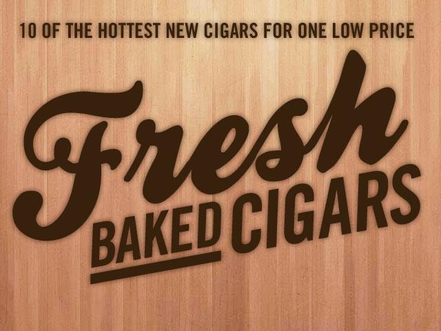Fresh Baked Cigars New Cigar Sampler