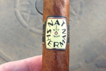 The Nat Sherman Timeless Collection cigar
