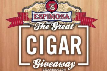 Espinosa Cigars giveaway
