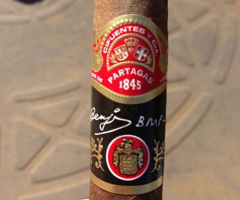Partagas Benji cigar review and rating