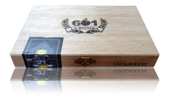 Box of 601 La Bomba cigars
