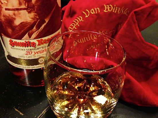 glass of Pappy Van Winkle's Family Reserve