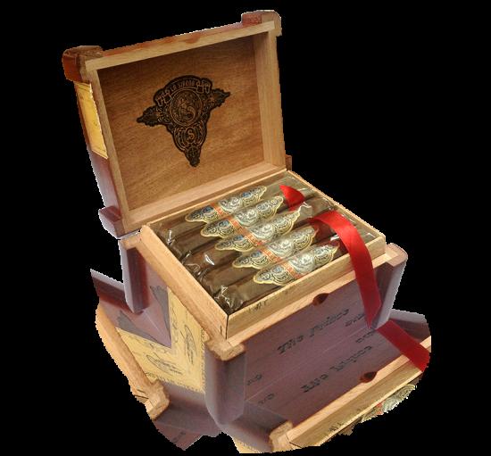 La Sirena box of robusto cigars