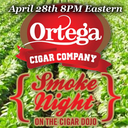 Ortega Cigars HERF Smoke Night