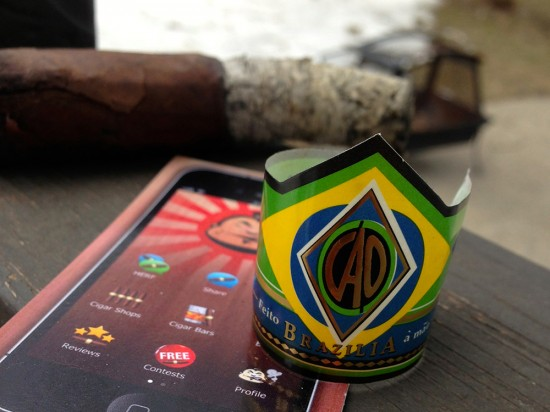 CAO Brazilia cigar band