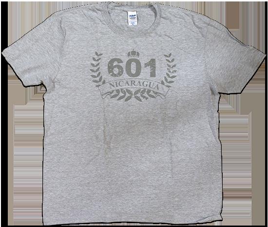 601 Nicaragua gray cigar shirt
