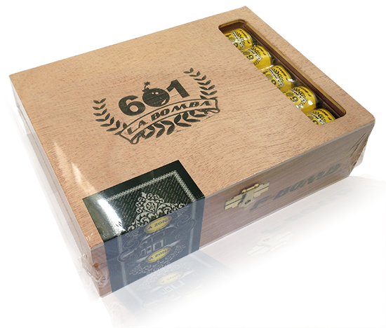 601 La Bomba F-Bomb cigar box giveaway