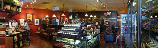 Tobacco Grove cigar shop