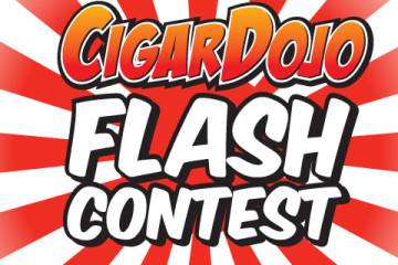 Flash contest cigar giveaway