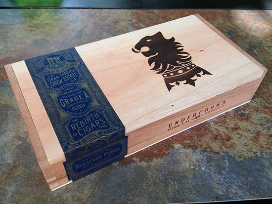 Liga Undercrown box of robusto cigars