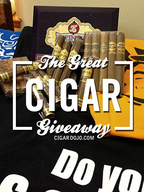 IPCPR cigar giveaway