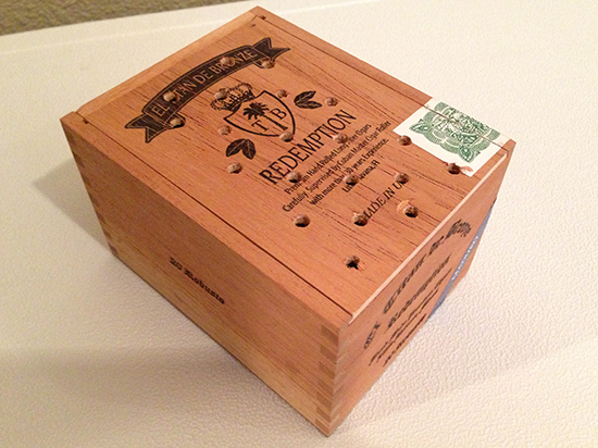 Cigar humidity beads box