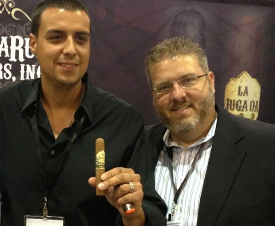 Danny Moya and Nelson Ruiz of Moya Ruiz cigars