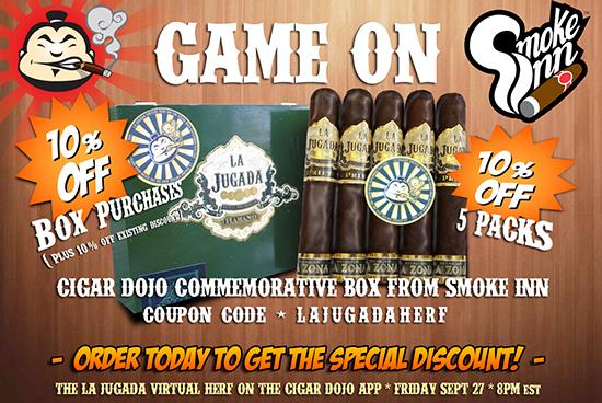 La Jugada box special Cigar Dojo edition