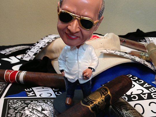 Nestor Miranda Cigar bobble head