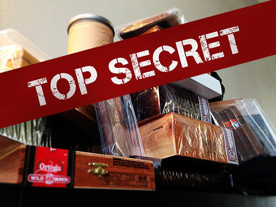 Top secret cigar giveaway
