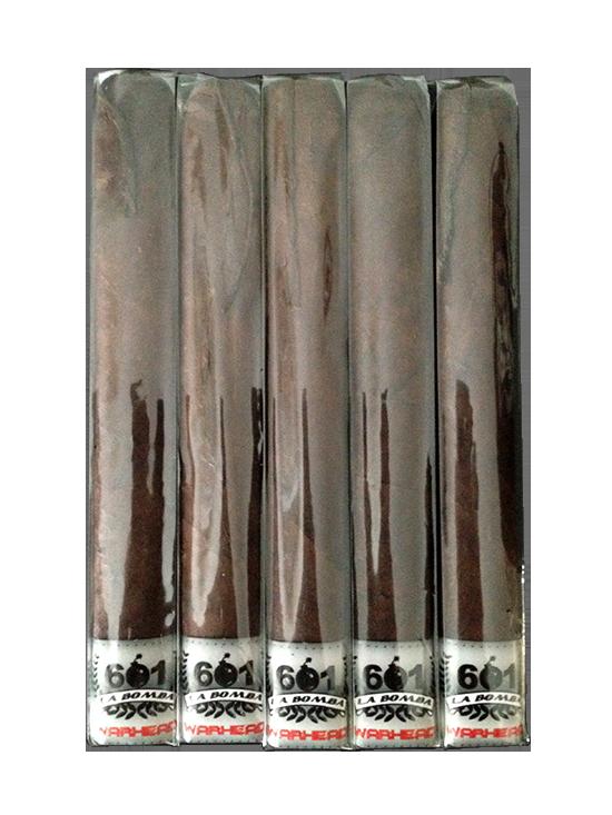 601 La Bomba Warhead Maduro cigars