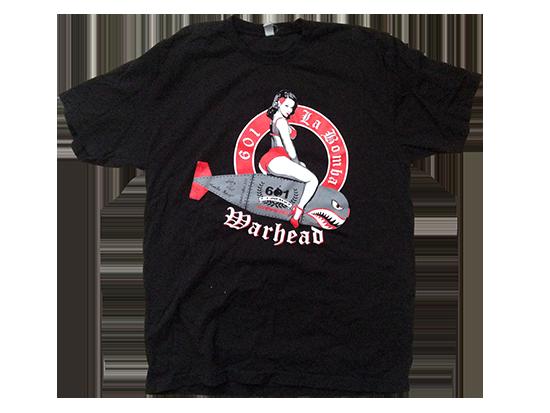 Espinosa Cigars 601 Warhead shirt