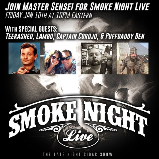 Smoke Night LIVE the late night cigar show