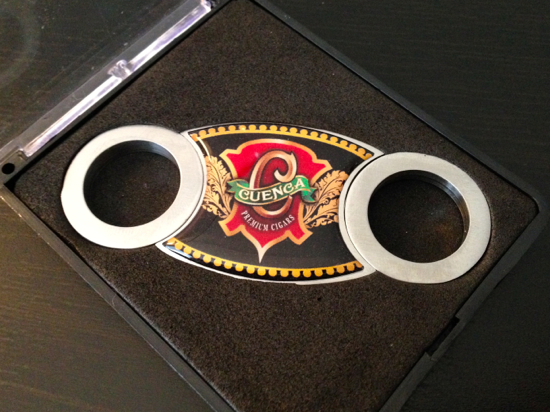 Cuenca Cigars cigar cutter