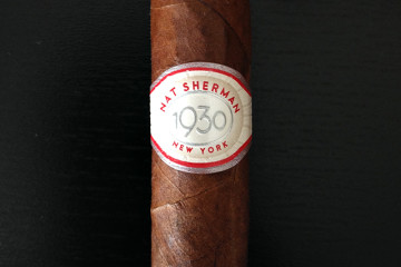 Nat Sherman 1930 cigar review