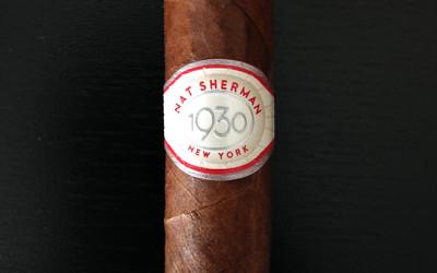 Nat Sherman 1930 cigar review