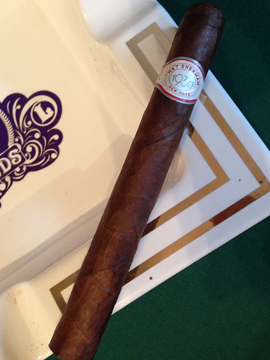 Nat Sherman 1930 cigar Corona Grande