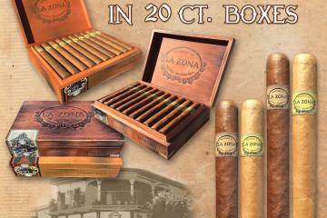 La Zona 20 count boxes