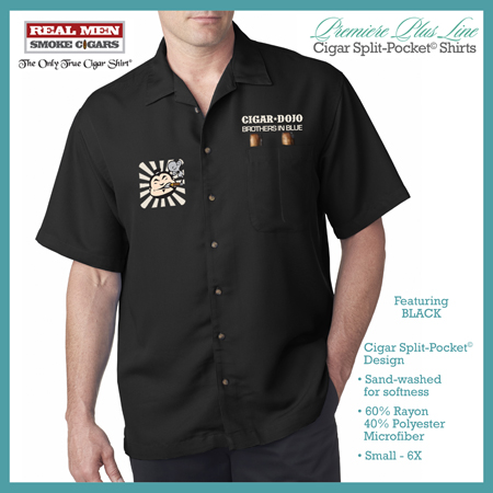 Premiere Plus Cigar Dojo Smoking Shirt