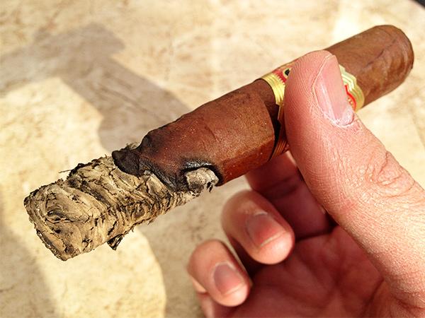 Smoking D'Crossier Golden Blend Aged 10 Years cigar