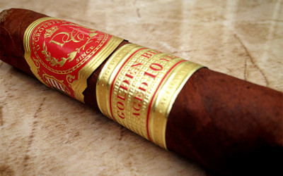 D'Crossier Golden Blend Aged 10 Years cigar review