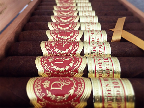 D'Crossier Golden Blend Aged 10 Years cigars