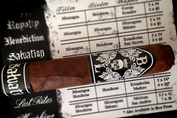 Black Label Trading Company Salvation cigar review